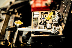 Mechanical tools Stock Image