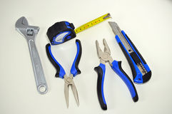 Mechanical tools Royalty Free Stock Photos