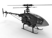 Mechanical toy helicopter illustration Stock Photos
