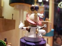 Mechanical toys in a shop window . stock video