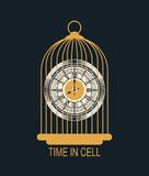 Mechanical watches in the cell Stock Image