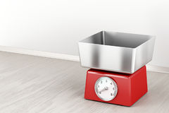 Mechanical weight scale Stock Image