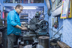 Mechanical workshop Stock Image