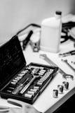 Mechanical workshop Stock Images