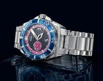 Mechanical wrist watch. 3D model Royalty Free Stock Photos