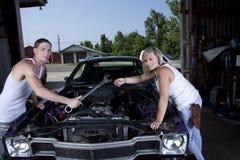 Mechanics Royalty Free Stock Photos