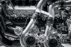 Mechanics car engine Royalty Free Stock Photography