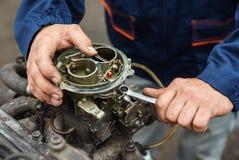 Mechanics hands Royalty Free Stock Image