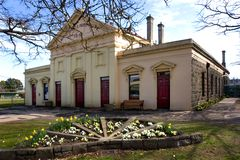 Mechanics Institute. Historic building in Kyneton, 76Km NW Melbourne Royalty Free Stock Photo