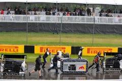 Mechanics at Montreal Grand prix Stock Photos