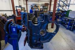 Engine Diesel Rebuild Casing Trucking Royalty Free Stock Image