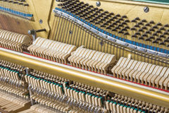 Mechanics of an upright piano Royalty Free Stock Photography
