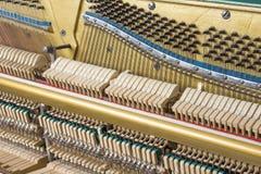 Mechanics of an upright piano Royalty Free Stock Photography