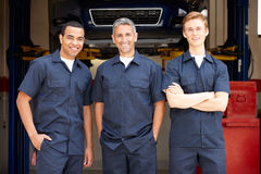 Mechanics at work Stock Photos