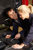Mechanics at work Royalty Free Stock Photos