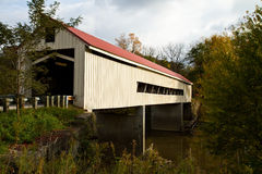 Mechanicsville Covered Bridge royalty free stock photo