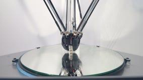 Mechaniczna maszyna robi 3D przedmiotowi 4K zbiory