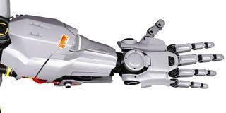 Mechaniczna ręka Zdjęcia Royalty Free