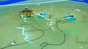 Mechaniczny Aqua larwy Rover basen zbiory