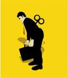 Mechaniczny Biznesowy Mężczyzna Zdjęcia Stock