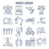 Mechaniczny operacja set royalty ilustracja