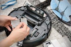Mechaniczny próżniowego cleaner utrzymanie Obraz Royalty Free