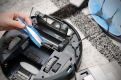 Mechaniczny próżniowego cleaner utrzymanie Zdjęcie Royalty Free