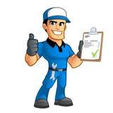 mechanik royalty ilustracja