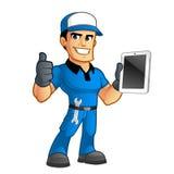mechanik ilustracji