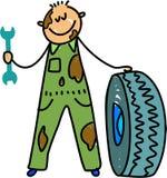 mechanik dzieciaka. Obraz Royalty Free