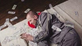 Mechanik i spada pieniądze zbiory wideo