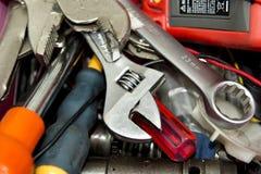 Mechanik pracy narzędzia Zdjęcie Royalty Free
