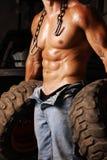 mechanik przepocony Fotografia Royalty Free