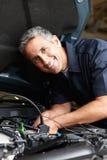 Mechanik przy pracą fotografia royalty free