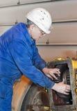 Mechanik słuzyć mechanizmy obraz stock