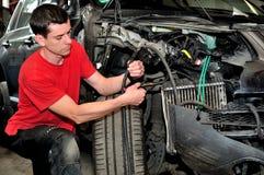 mechanika samochodowego Zdjęcia Stock