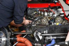 mechanika samochodowego Zdjęcia Royalty Free