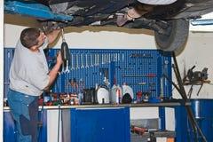 mechanika samochodowego Obraz Stock