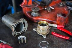 Mechanika stół Zdjęcie Stock