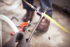 Mechaniker-Connecting-Rohr für Abkühlung Stockbilder