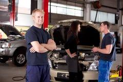 Mechaniker-Portrait Lizenzfreies Stockfoto