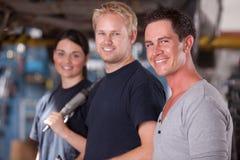 Mechaniker-Team Stockbild