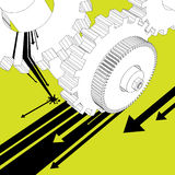 Mechanikerabbildungvektor stock abbildung