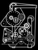 Mechanikerhintergrund vektor abbildung