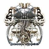 Mechanisch cijfer royalty-vrije illustratie