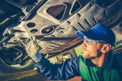Mechanisch Fixing de Auto stock afbeeldingen