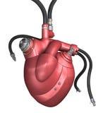 Mechanisch hart vector illustratie