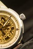Mechanisch horloge royalty-vrije stock afbeelding