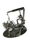 Mechanisch ijzerstuk speelgoed   Stock Afbeelding