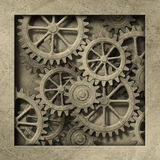 Mechanische Achtergrond Stock Foto's